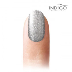 Gel polish glitter Silver Chacha 7 ml