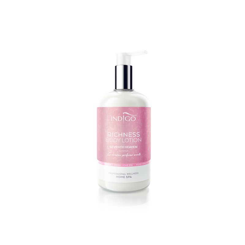 Indigo Body Lotion Seventh Heaven shimmer pink