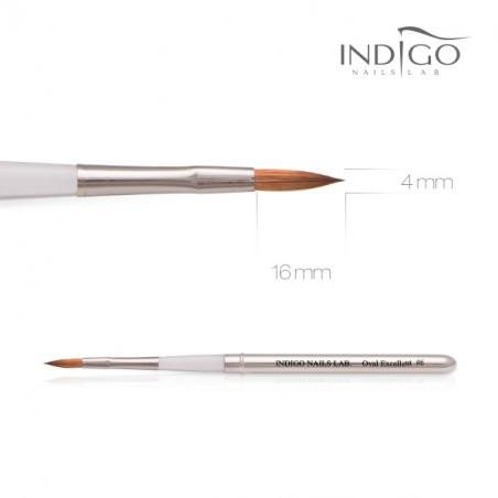 Indigo Brush Oval Excellent No 6